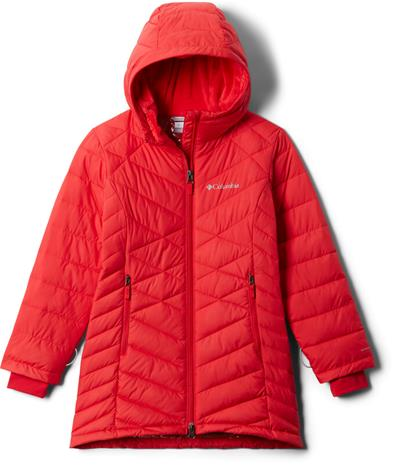 Columbia Heavenly Long Jacket Girls, red lily