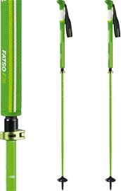 Komperdell Fatso Carbon Team Vario Poles, white/green