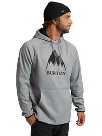 Burton Crown Weatherproof Hoodie gray heather Miehet