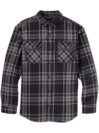 Burton Brighton Performance Flannel Shirt true black classic Miehet