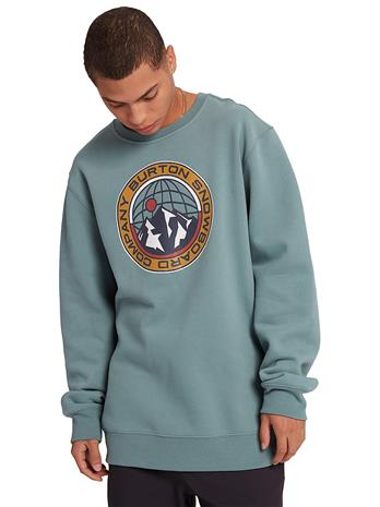 Burton Kauffman Crew Sweater trellis Miehet