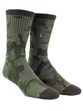 Volcom Vibes Socks army Miehet