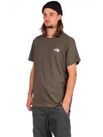 THE NORTH FACE Simple Dome T-Shirt new taupe green Miehet