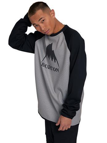 Burton Crown Weatherproof Crew Sweater gryhtr / trublk Miehet