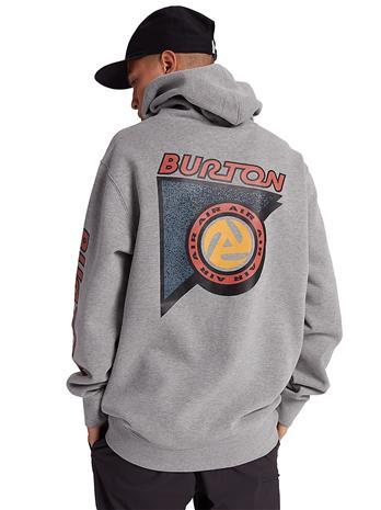 Burton Sequoia Hoodie gray heather Miehet