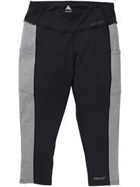 Burton Midweight X 3/4 Boot Tech Pants trublk / gryhtr Naiset