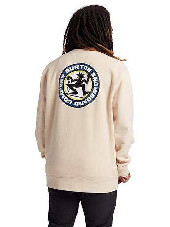 Burton Rosewood Crew Sweater creme brulee Miehet