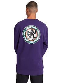 Burton Rosewood Crew Sweater parachute purple Miehet
