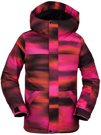 Volcom Sass'n'fras Insulated Jacket bright pink Tytöt