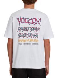 Volcom Extraneous Lifeforms T-Shirt white Miehet