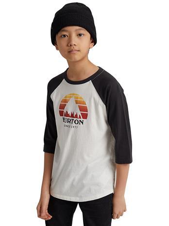 Burton Underhill Raglan Longsleeve T-Shirt stowht / phntom Jätkät