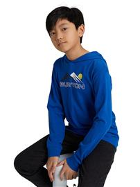 Burton Ripton Hooded Longsleeve T-Shirt lapis blue Jätkät