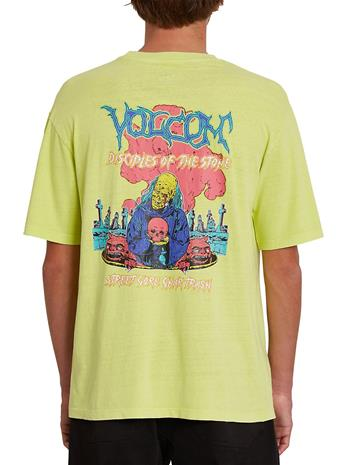 Volcom Extraneous Lifeforms T-Shirt lime Miehet