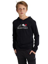 Burton Ripton Hooded Longsleeve T-Shirt true black Jätkät