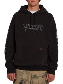 Volcom Something Out There Hoodie black Miehet