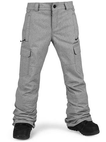 Volcom Cargo Insulated Pants heather grey Jätkät
