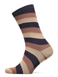 Ganni Polyamide Blend Lingerie Socks Regular Socks Monivärinen/Kuvioitu Ganni MULTICOLOUR
