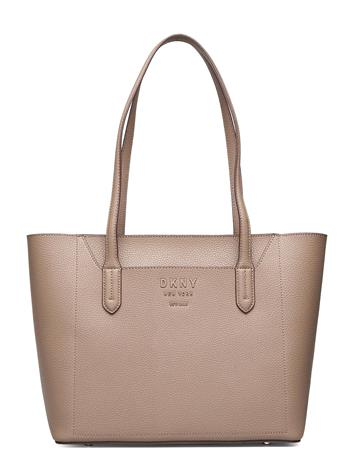 DKNY Bags Noho-Ew Tote-Pebble Shopper Laukku Beige DKNY Bags MSHRM/CYN ROSE