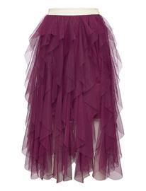 The New Silvia Tylle Skirt Hame Liila The New POTENT PURPLE