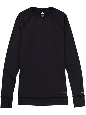Burton Lightweight X Crew Tech Tee LS true black Naiset