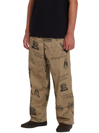 Volcom Outer Spaced EW Pants khaki Miehet