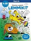 Maalaa vedellä LEMMIKIT -puuhakirja 4-99 v, kirja 9789526360522
