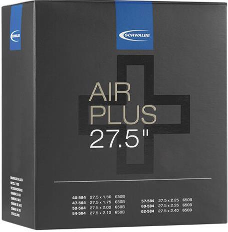 "SCHWALBE No. 21 Air Plus Inner Tube 27.5"""""