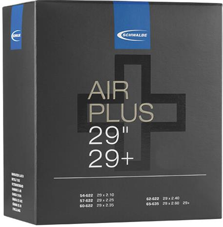 "SCHWALBE No. 19 Air Plus Inner Tube 29""""/29+"""""