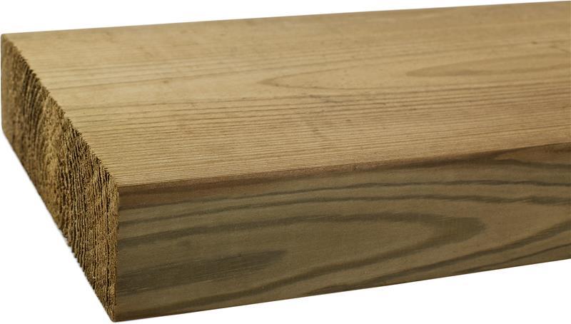 Kyllästetty mänty A 48 x 148 mm MIT Höylätty Vihreä