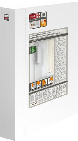 XPS-eristyslevy Extrupor 2500 x 800 x 6 mm