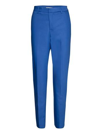 MOS MOSH Drew Night Pant Suoralahkeiset Housut Sininen MOS MOSH TRUE BLUE