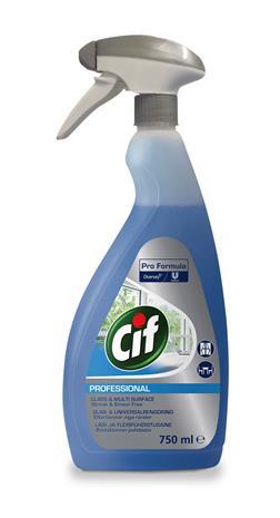 Cif Professional 750 ml lasinpuhdistaja