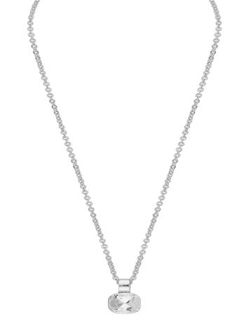 SNä– of Sweden Nocturne Pendant Neck 42 S/Clear Accessories Jewellery Necklaces Dainty Necklaces Hopea SNä– Of Sweden S/CLEAR