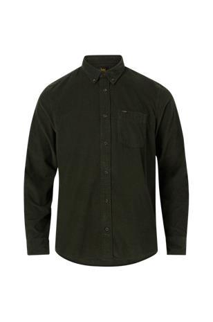 Lee Kauluspaita Lee Button Down vakosamettia, Miesten paidat, puserot ja neuleet