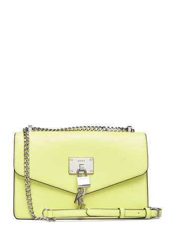 DKNY Bags Elissa-Lg Shouldr Fl Bags Small Shoulder Bags - Crossbody Bags Keltainen DKNY Bags CITRON (PALE GR