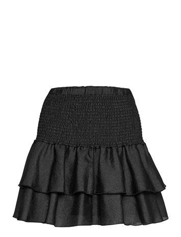 Cras Figarocras Skirt Lyhyt Hame Musta Cras BLACK