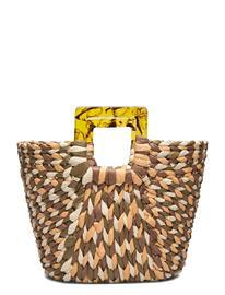 Becksöndergaard Weavs Bag Bags Top Handle Bags Monivärinen/Kuvioitu Becksöndergaard BLACK FOREST