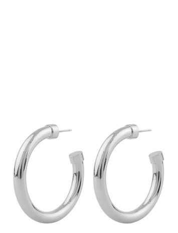 SNä– of Sweden Piper Ring Ear Plain S Accessories Jewellery Earrings Hoops Hopea SNä– Of Sweden PLAIN S, Naisten hatut, huivit ja asusteet