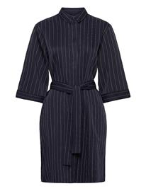 Norr Ellis Shirt Dress Polvipituinen Mekko Sininen Norr BLUE STRIPE