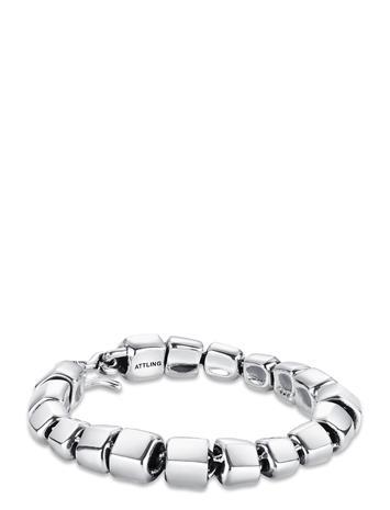 Efva Attling Spine Bracelet Accessories Jewellery Bracelets Chain Bracelets Hopea Efva Attling SILVER, Naisten hatut, huivit ja asusteet