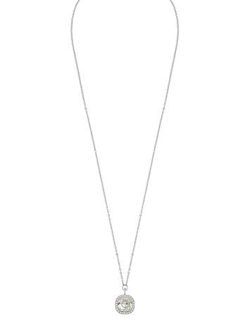 SNä– of Sweden Lyonne Pendant Neck 42 S/Clear Accessories Jewellery Necklaces Dainty Necklaces Hopea SNä– Of Sweden S/CLEAR