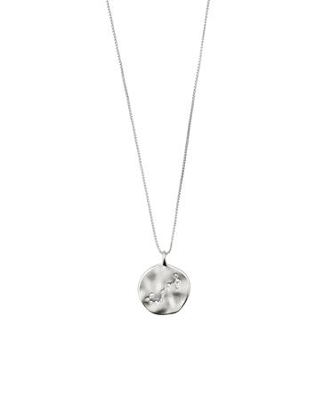 Pilgrim Scorpio Zodiac Sign Accessories Jewellery Necklaces Dainty Necklaces Hopea Pilgrim SILVER PLATED