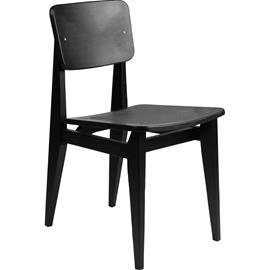 Gubi C-Chair Chair, Veneer / Oiled Black Oak