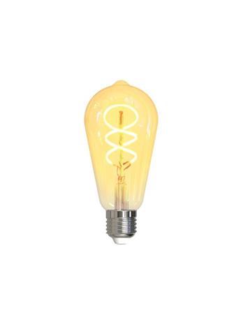Deltaco Smart Home SH-LFE27ST64S, WiFi-älylamppu E27, 5,5 W, hehkulankajäljitelmä