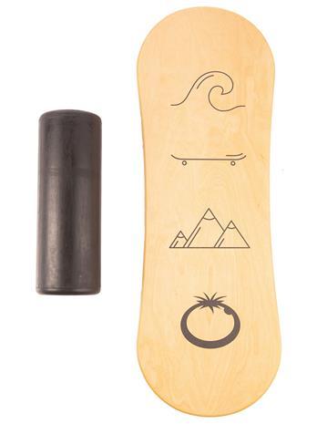 Blue Tomato Icon Balance Board wood