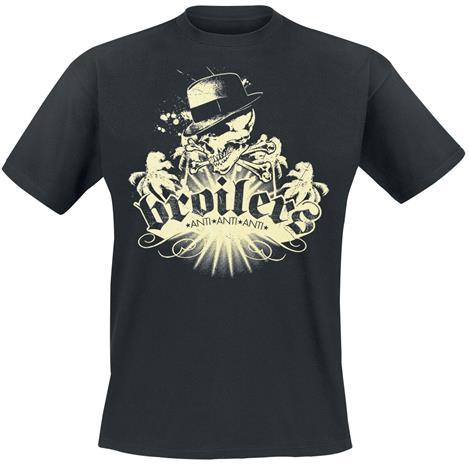 Broilers - Skull & Palms - T-paita - Miehet - Musta