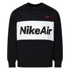 Nike Air Collegepaita NSW Crew - Musta/Valkoinen