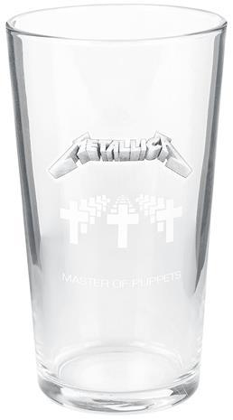 Metallica - Master Of Puppets - Oluttuoppi - Unisex - Läpinäkyvä