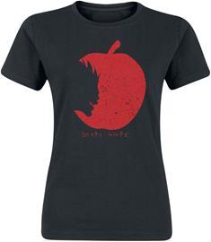 Death Note - Ryuks Apple - T-paita - Naiset - Musta