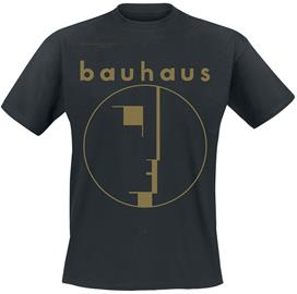 Bauhaus - Spirit Logo Gold - T-paita - Miehet - Musta